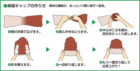 麻福キャップの作り方