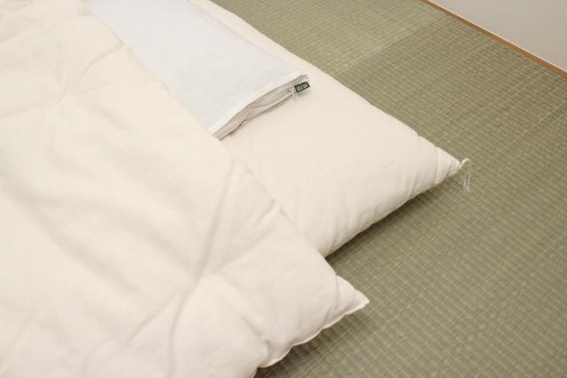 【受注生産】ヘンプ敷布団(枕パッド付)